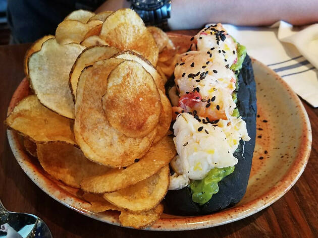 Lobster roll at Pagu