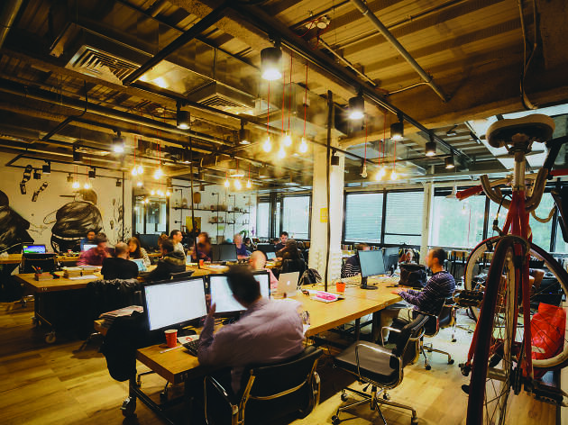 Tel Aviv's top local co-working spaces