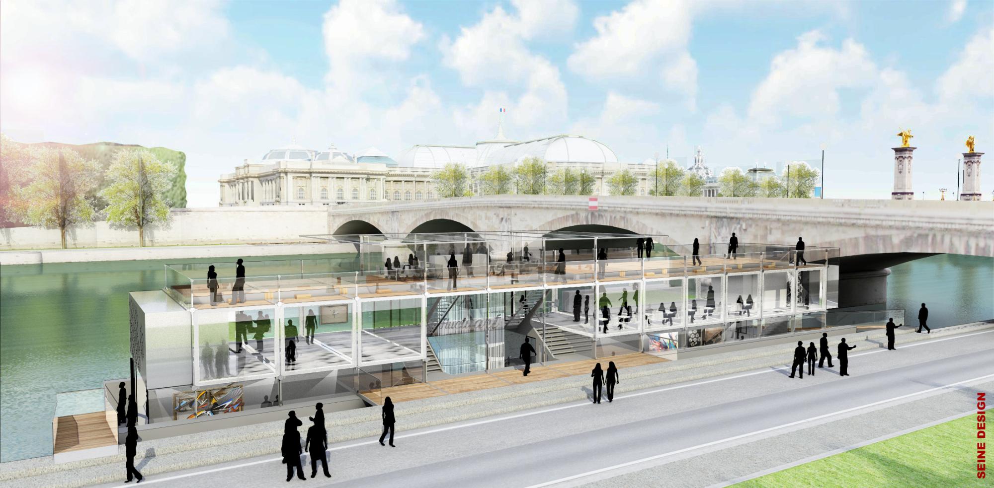 Le premier centre d'art urbain flottant au monde ouvre ses portes au printemps