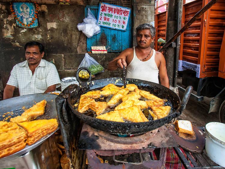 The best Delhi street food