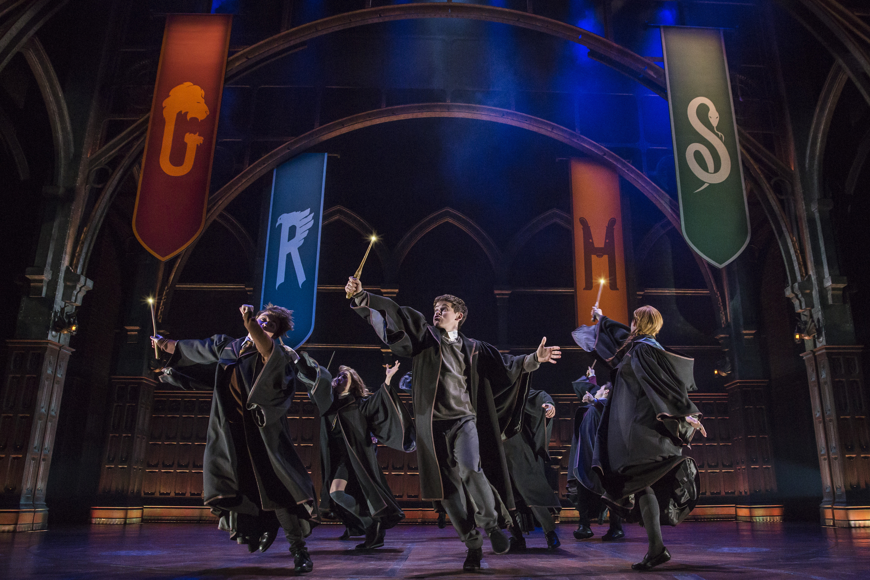Harry Potter and the Cursed Child New York cast 2019