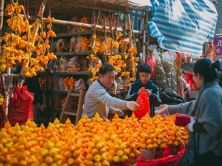 A guide to Chinese New Year flowers and fruits