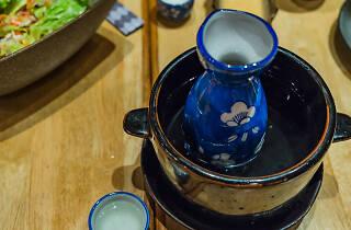Hot sake