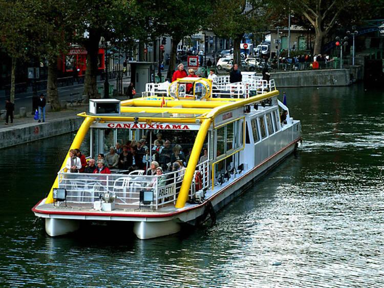 Canauxrama sur le Canal Saint-Martin et les bords de Marne
