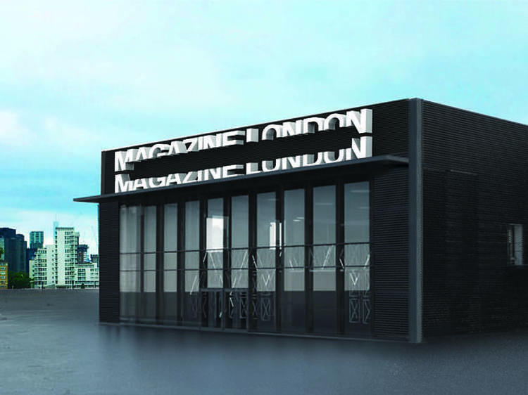 Greenwich Peninsula is getting a sick new event space