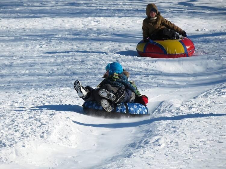 DropZone Snow Tubing Park at Mountain Creek