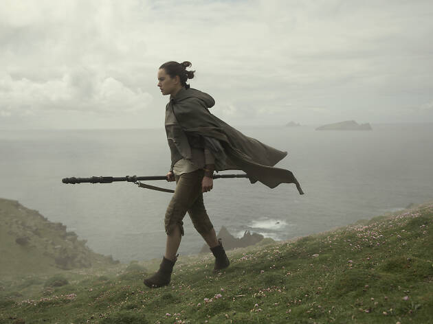 Star Wars: The Last Jedi Rey Walkmg