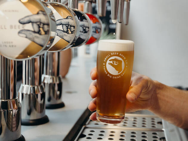 small beer brew co, low abv beer in london