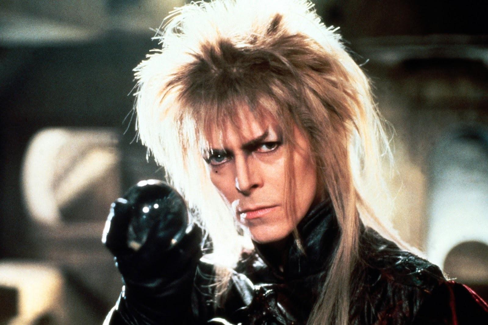 Los rostros de David Bowie en cinco películas