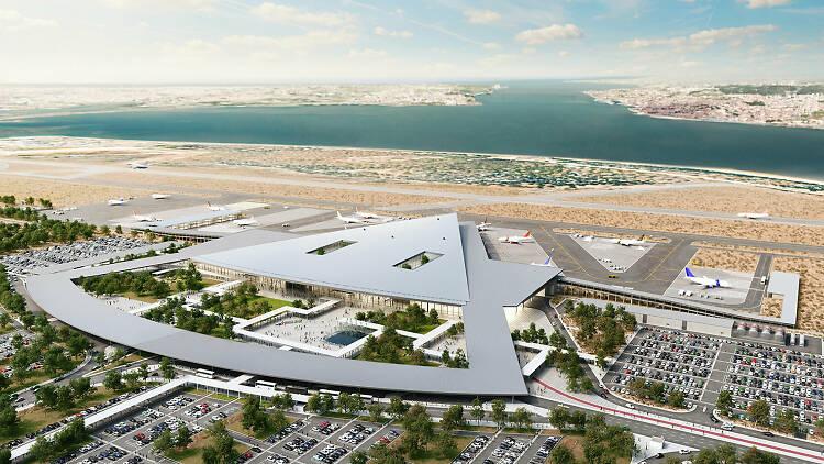 Novo aeroporto do Montijo, aeroporto do Montijo, montijo