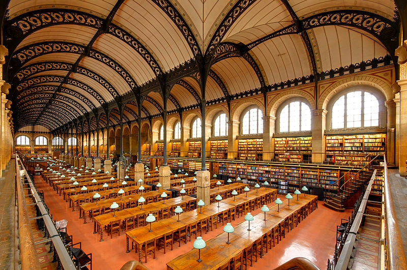 Les meilleures bibliothèques à Paris