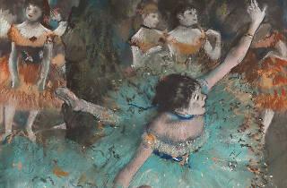 Bailarina basculando. Edgar Degas