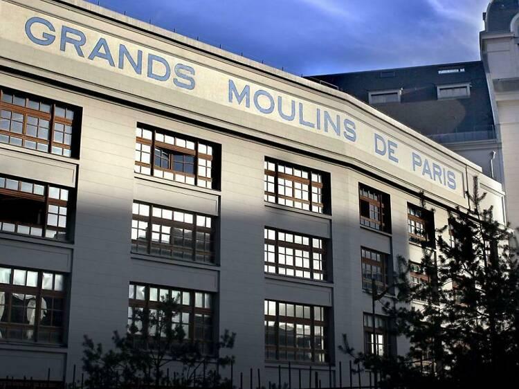Bibliothèque des Grands Moulin (Paris 7)