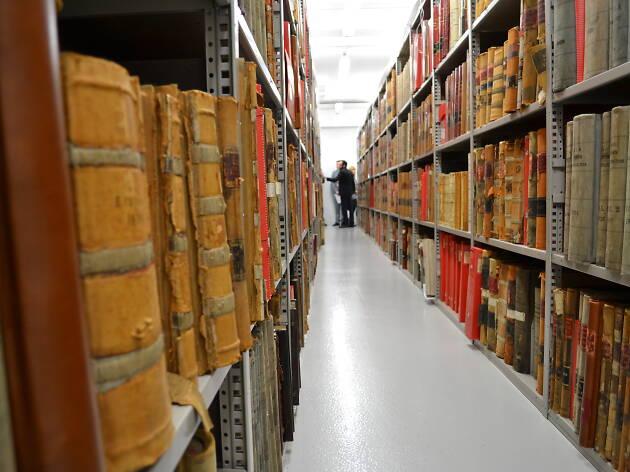 Bibliothèque des archives de Paris
