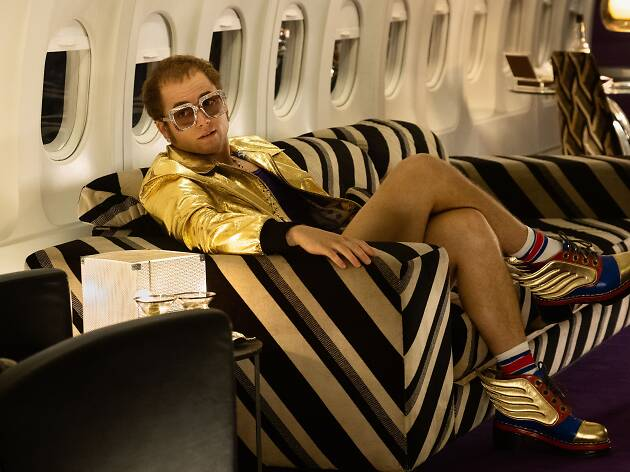 Taron Egerton starring as Elton John in the film Rocketman