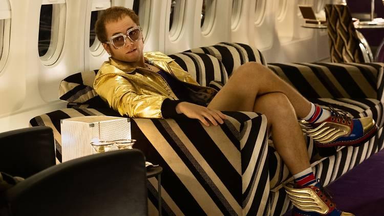 Taron Egerton starring as Elton John in the film Rocketman