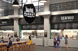 Rendering of Time Out Market Boston
