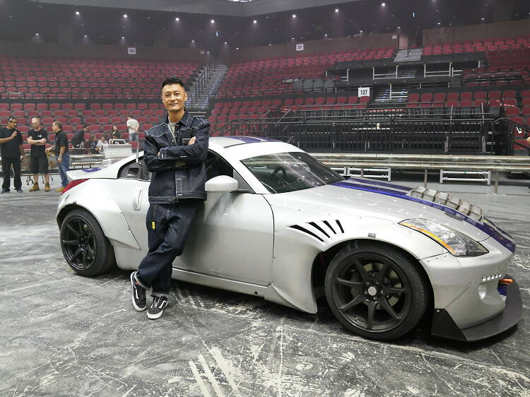 Hong Kong celebrity Shawn Yue is the show ambassador