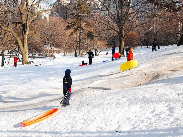 Central Park, Pilgrim Hill