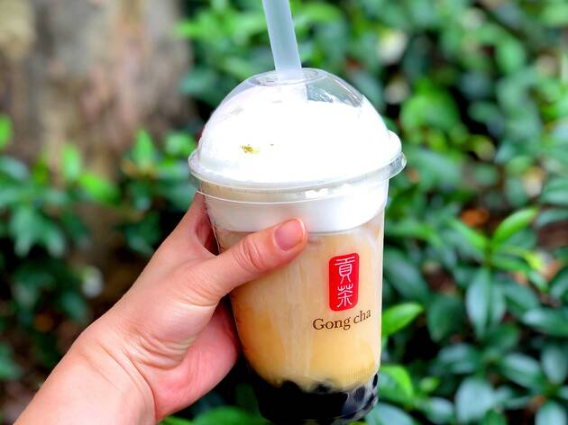 Milk Bubble Tea at Gong Cha