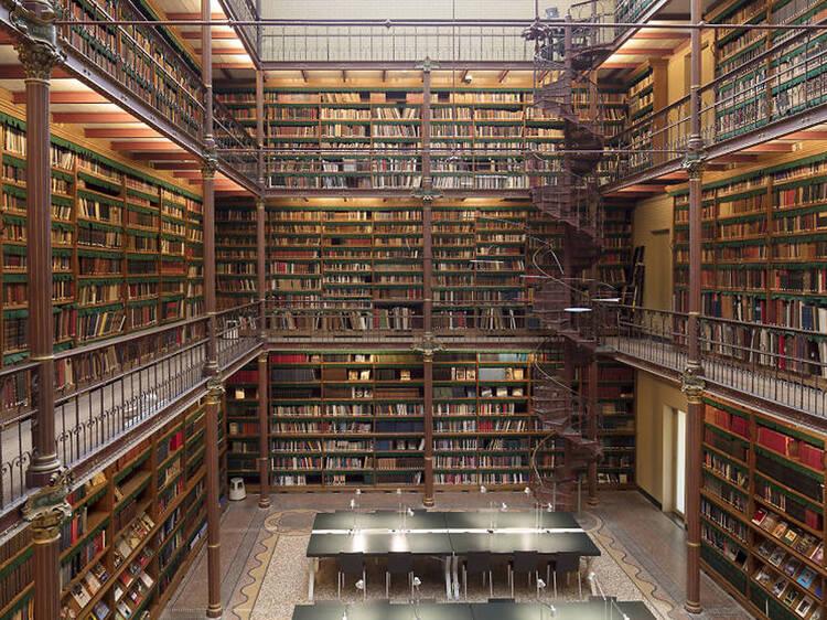 Jogue aos detectives de arte na biblioteca secreta do Rijksmuseum