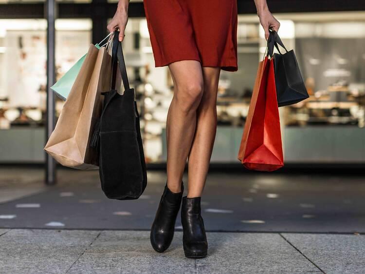 De shopping!