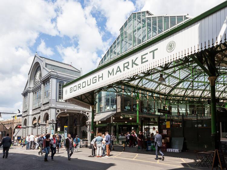 Abra caminho à dentada no melhor mercado de Londres