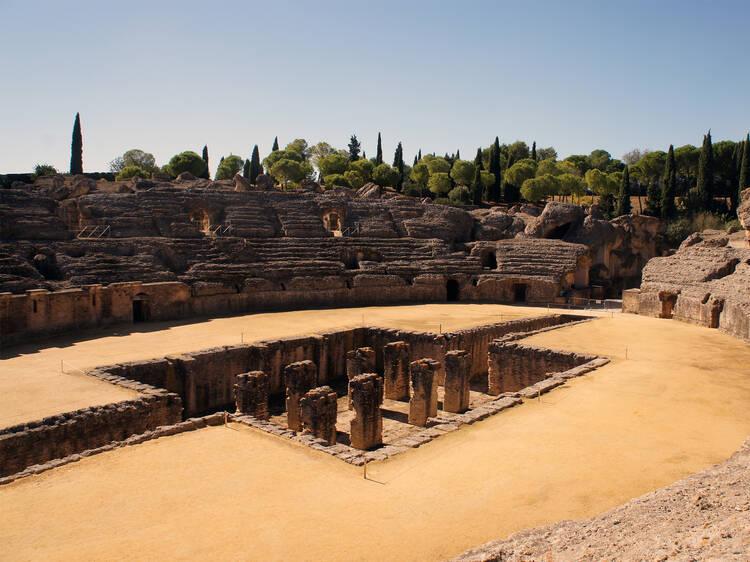 Siga as pegadas dos Romanos – e do elenco de'A Guerra dos Tronos' – em Itálica