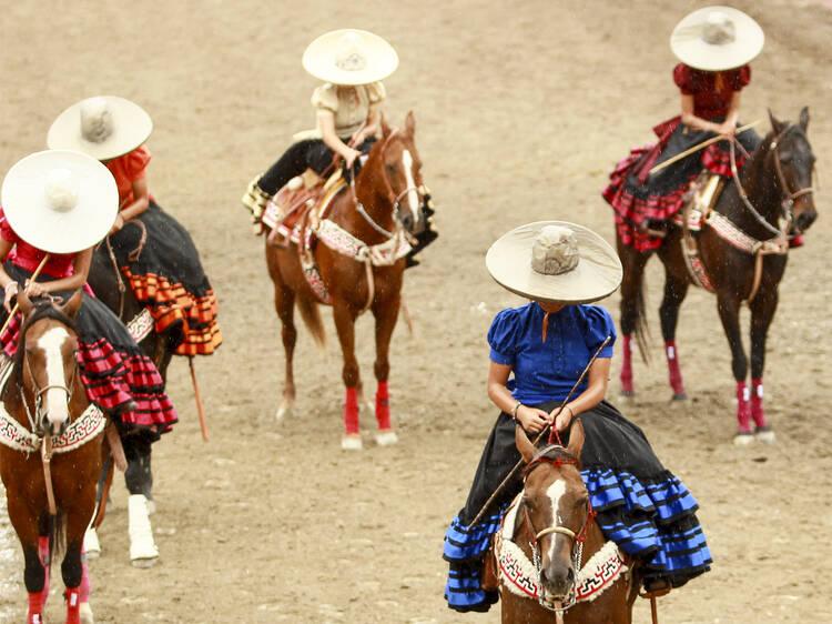 Participe no desporto nacional do México no Lienzo Charro de Jalisco