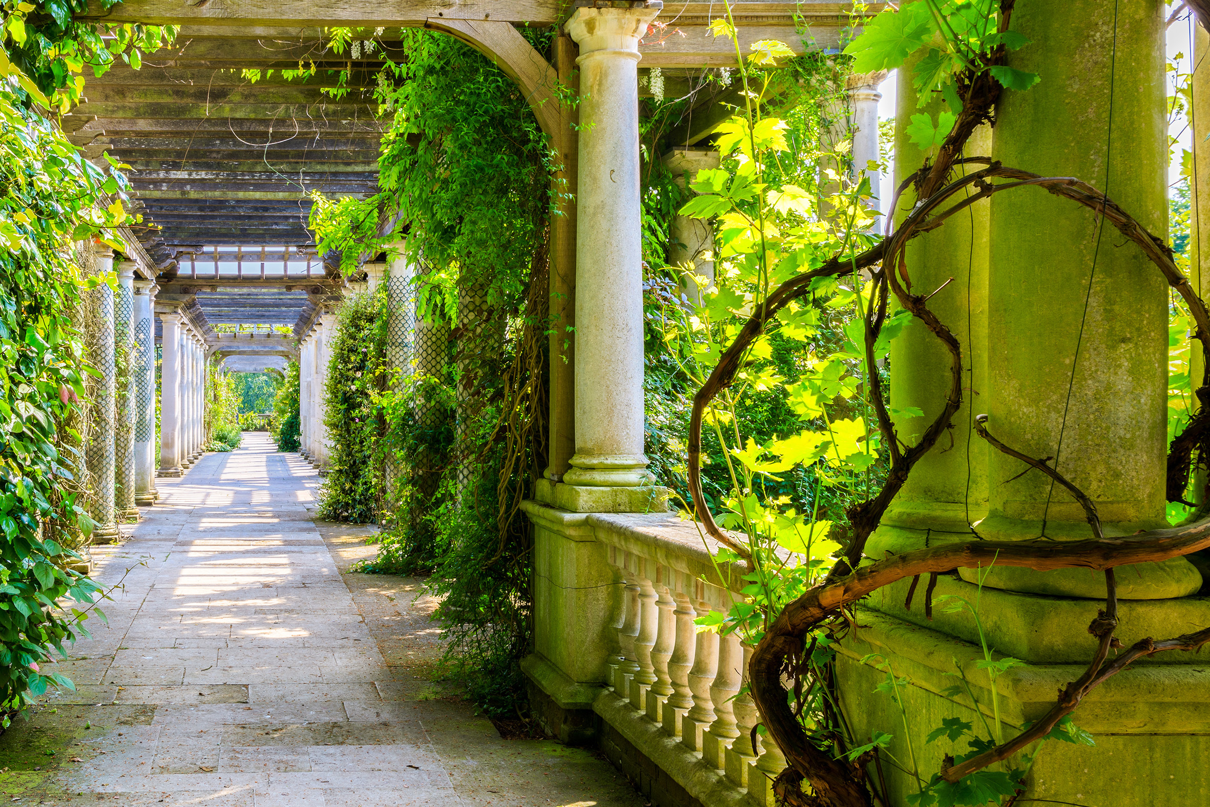 Hidden gardens and green spaces in London