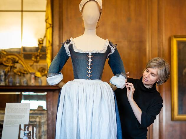 'The Favourite' Costume Display