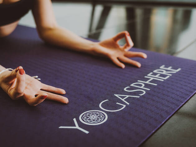 Up to 83% off yoga classes with Yogasphere