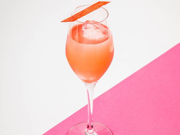 alcohol free cocktails, hops at waeska