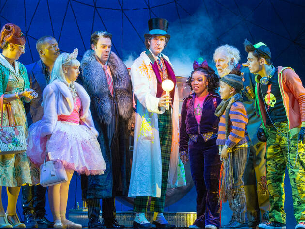 Charlie Chocolate Factory (Photograph: Jeff Busby)