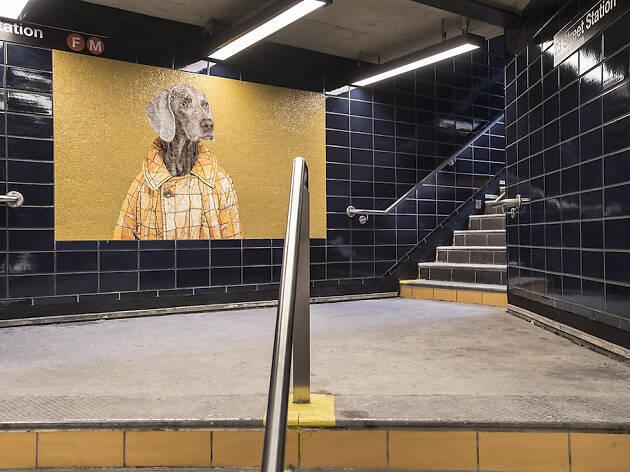 72nd Street Subway Map.Top Subway Art Around Nyc That You Can See On Your Commute