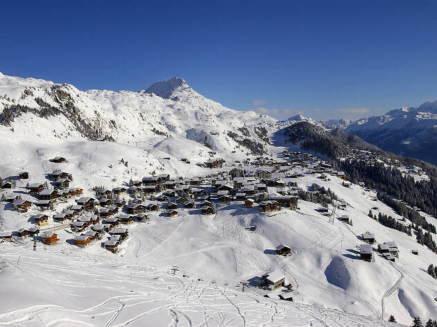 Discover Switzerland's top-ranked ski resorts this winter