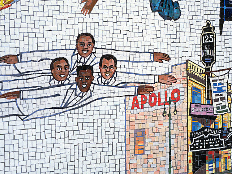 Faith Ringgold, Flying Home Harlem Heroes and Heroines, 1996
