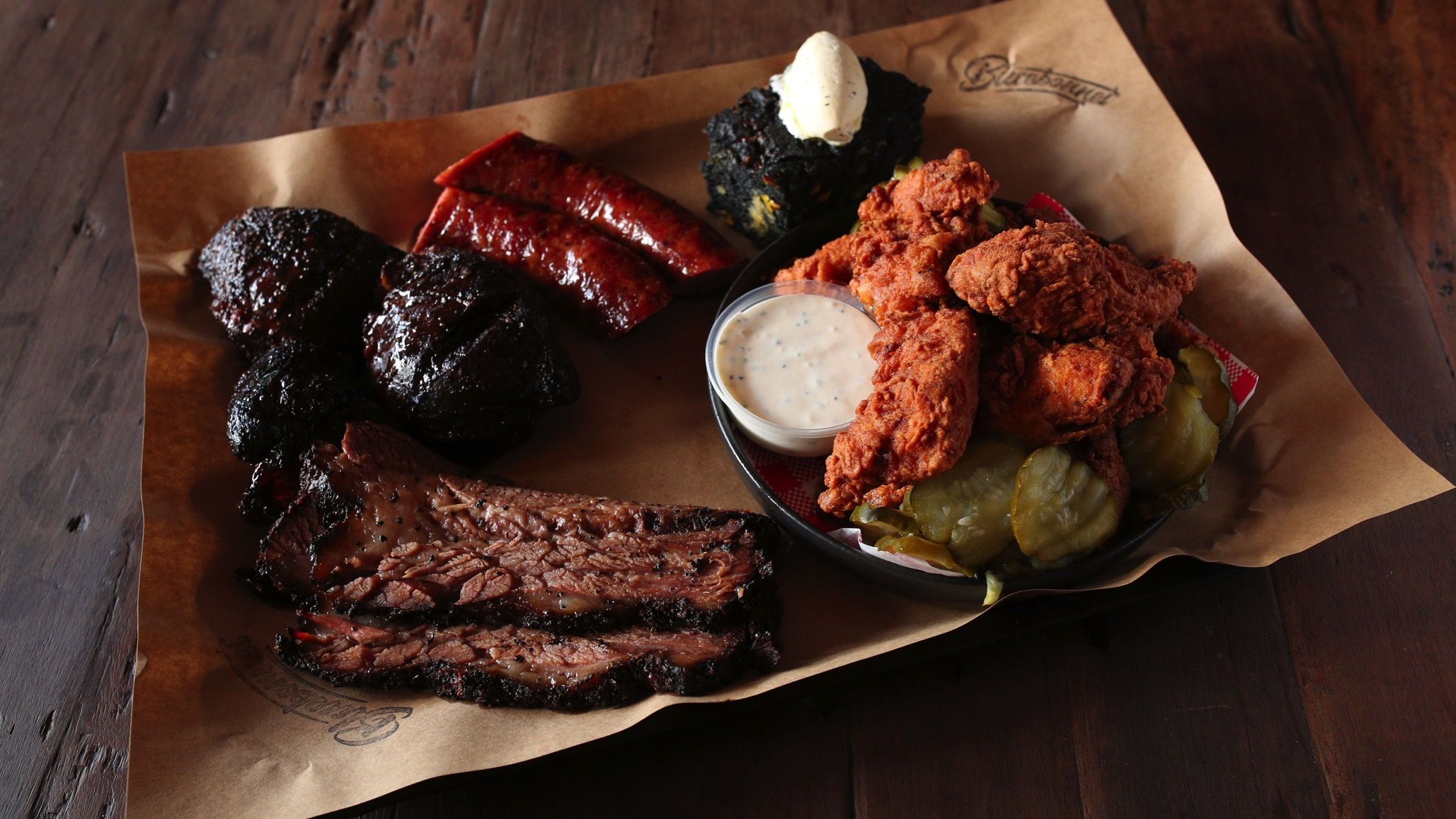 Bluebonnet is doing three weeks of unlimited barbecue