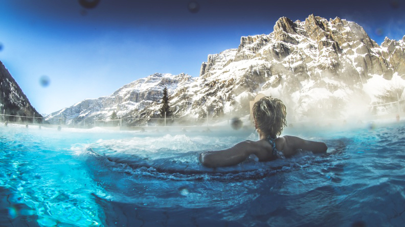 Thermal baths and spa experiences in Switzerland