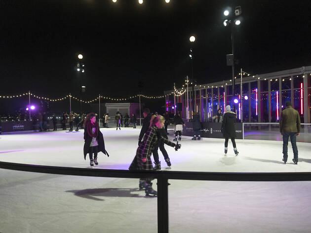 Winterland Rink at Pier 17