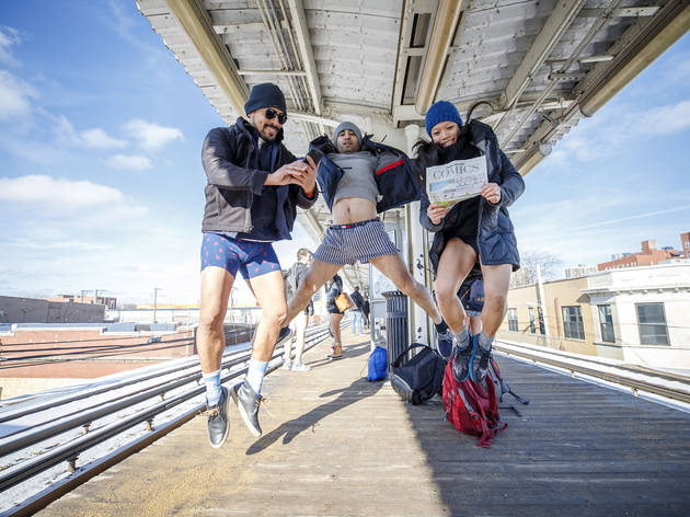 no pants subway ride 2019, Grace DuVal