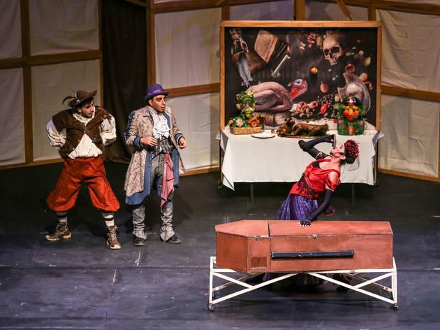 Un banquete para Don Quijote (Foto: Cortesía de la producción)