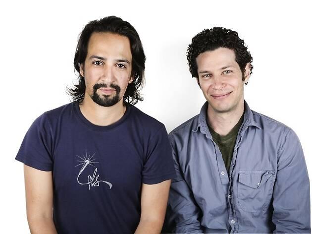 Lin-Manuel Miranda and Thomas Kail