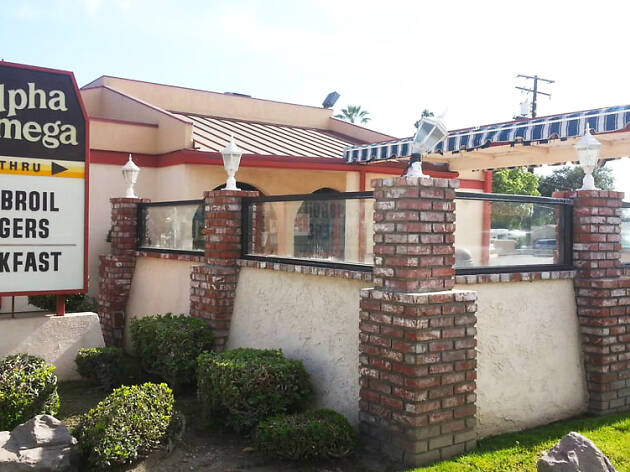 Alpha Omega restaurant in Covina Los Angeles California