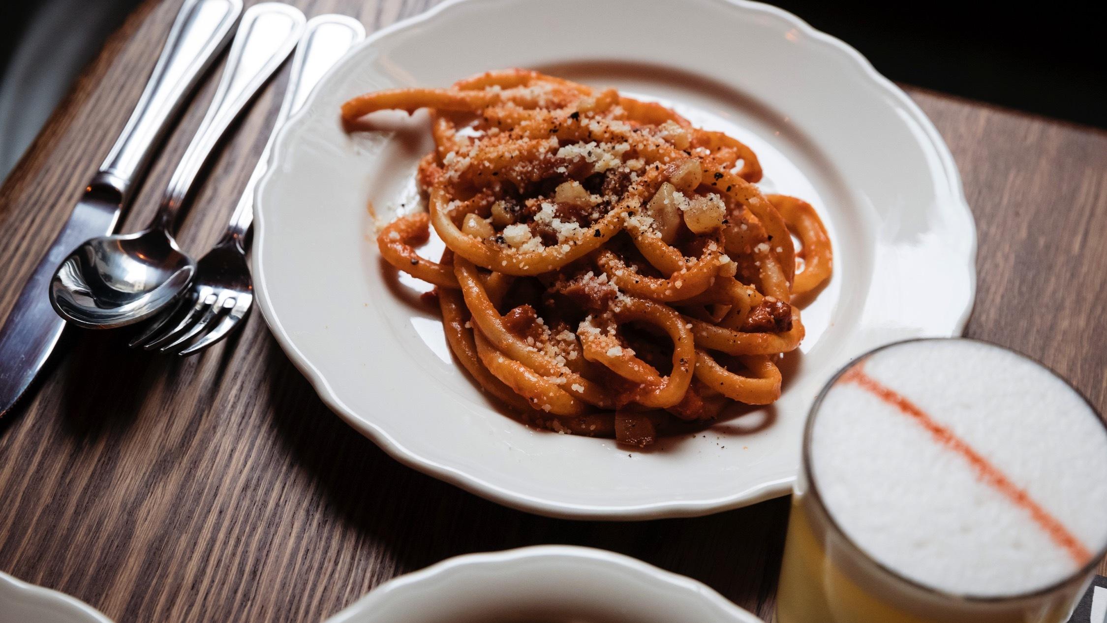 Food at Alberto's Lounge