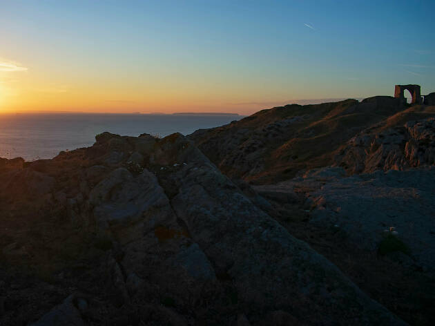 Jersey, sunset