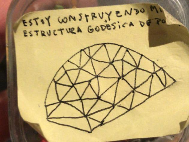 M'estic contruint una estructura geodèsica de poder. Clínica/Trobada sobre autoedició gràfica i sonora