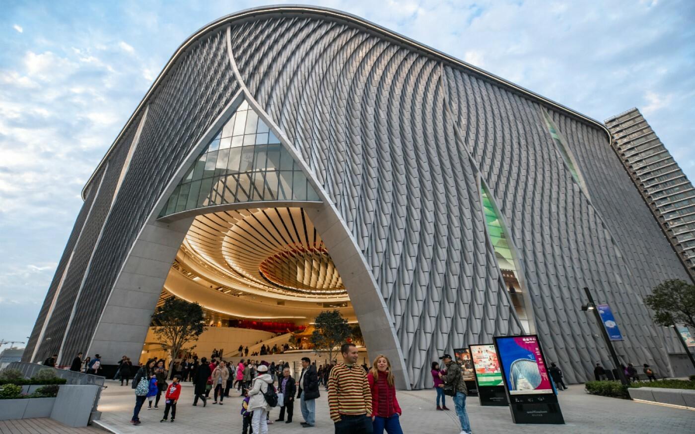 Xiqu Centre exterior