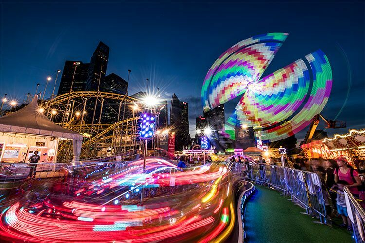 Prudential Marina Bay Carnival @ i Light Singapore