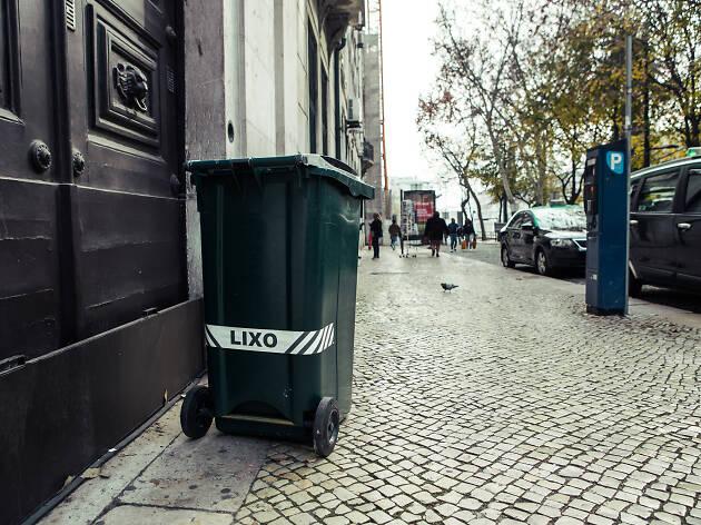 Lixo nas ruas